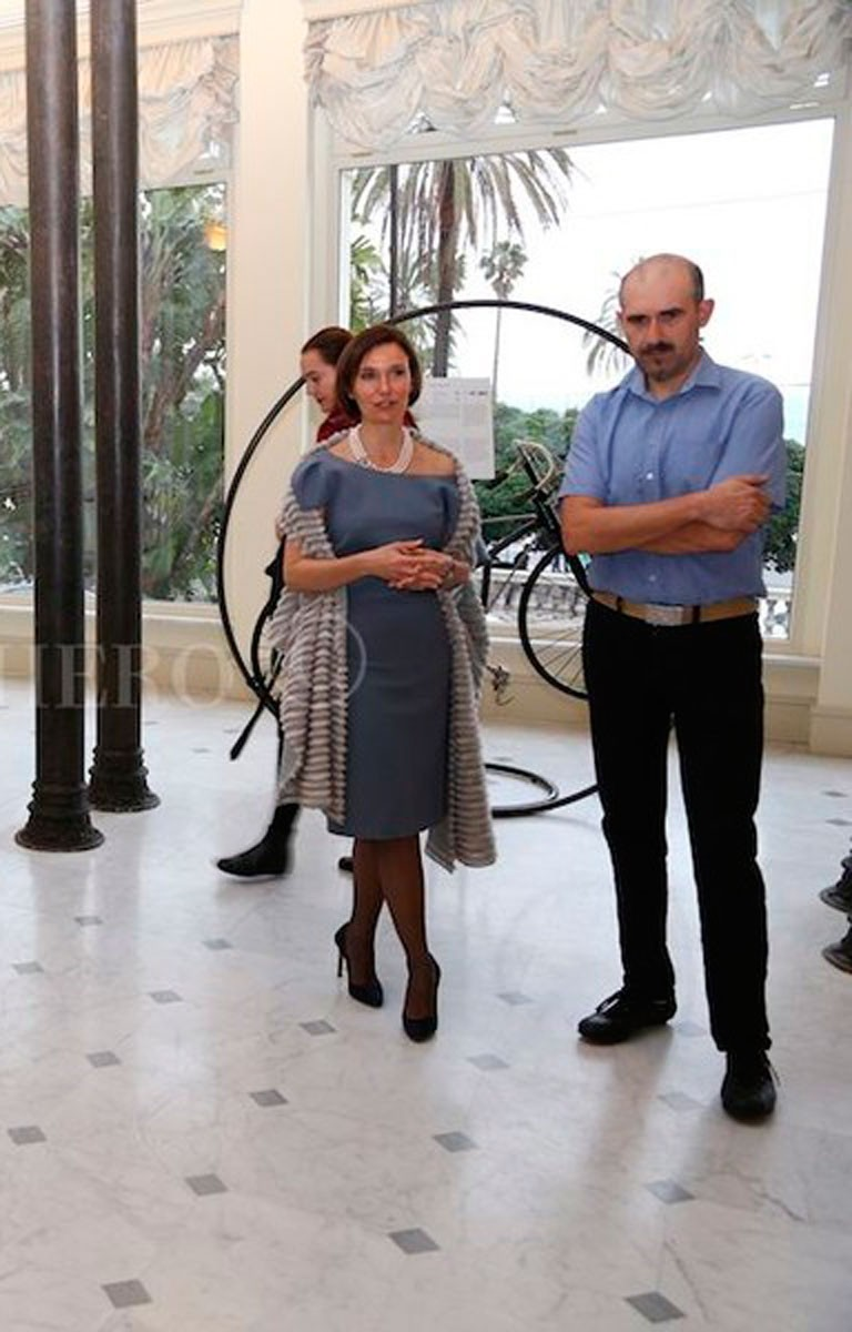 Beatrice Cozzi Parodi Presentazione On The Bicycle